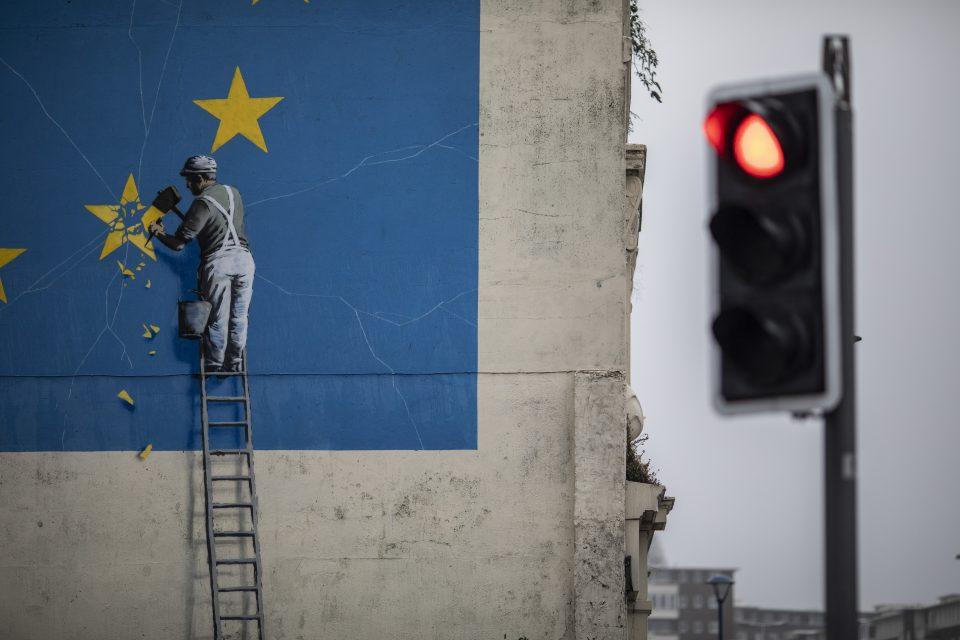 Banksy Street Art in Dover