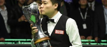 Ding Junhui won the UK Championship last year and banked £200,000