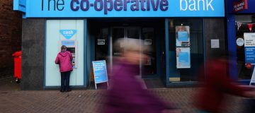 Co-op Bank narrows losses but remains deep in the red