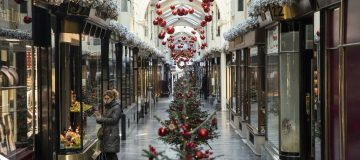 Christmas Decorations In London's West End