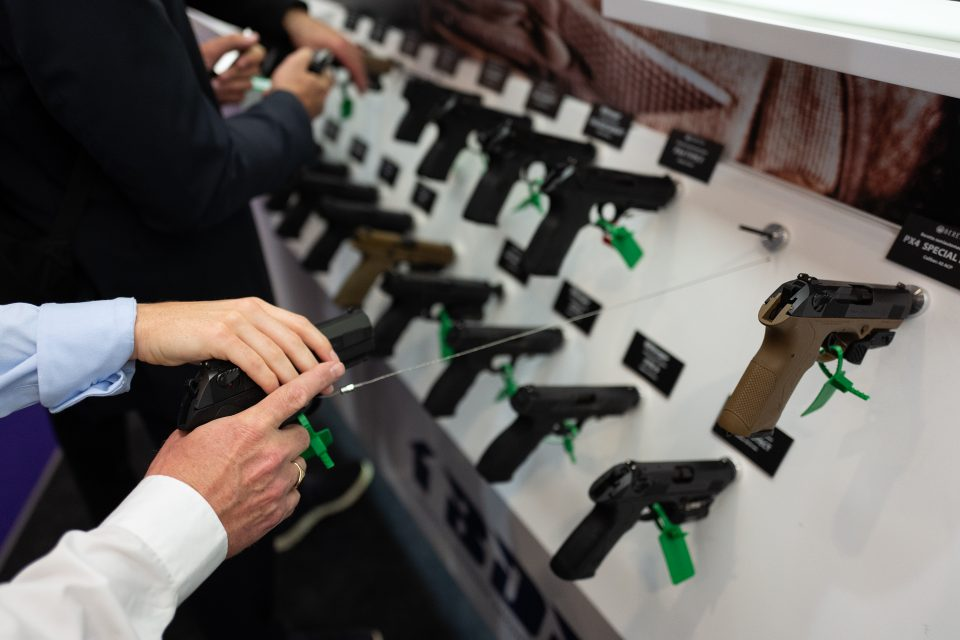 DSEI Arms Fair Opens in London Docklands