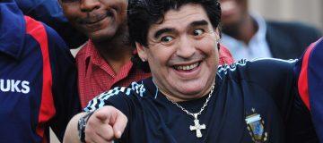 Diego Maradona's anti-establishment stance set him apart from fellow great Pele