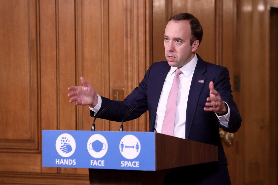 Downing Street Holds Virtual Press Conference On Coronavirus