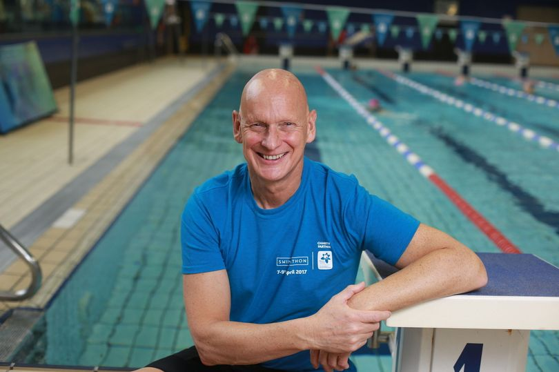Former Olympic swimming champion Duncan Goodhew is now president of Swimathon