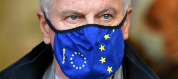 EU Chief Negotiator Michel Barnier Arrives In London To Continue Brexit Talks