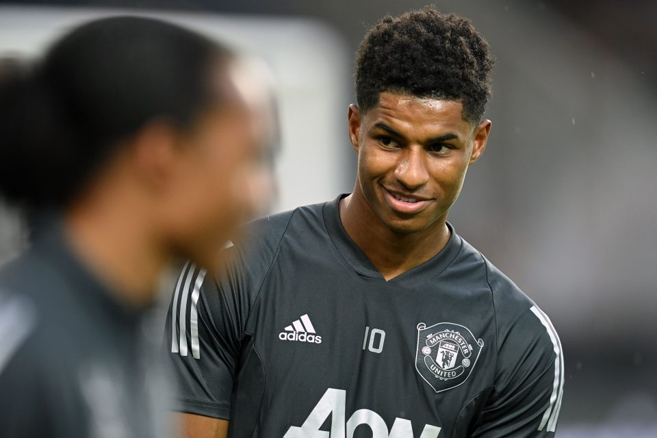 Manchester United and England footballer Marcus Rashford has campaigned against the government's stance on free school meals