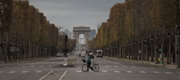 Friday In Paris As Second Covid-19 Lockdown Extended