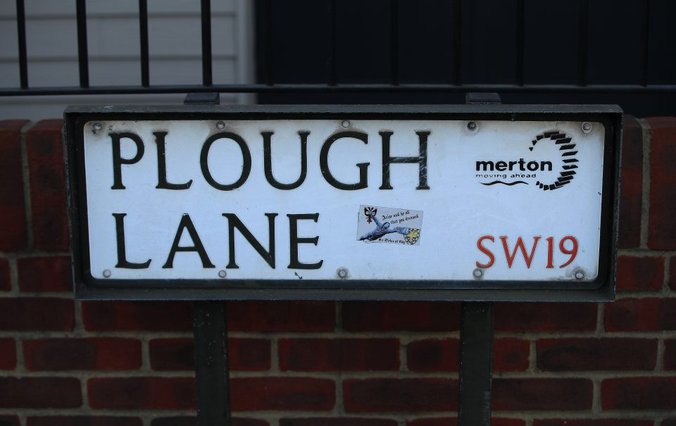 AFC Wimbledon's new home, Plough Lane, will host its first game on Tuesday night