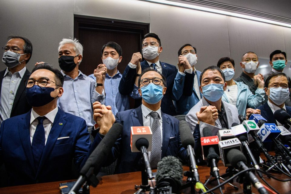 hong kong opposition pro-democracy