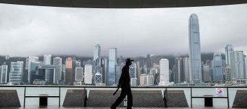 HONG KONG-WEATHER-TYPHOON