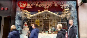 Hamleys Unveil Christmas Window