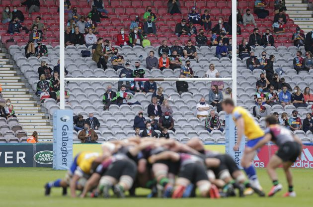 Harlequins applied artificial intelligence technology to allocate seating so that groups would be socially distanced