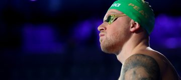 British Olympic champion Adam Peaty is among the stars competing in the International Swimming League