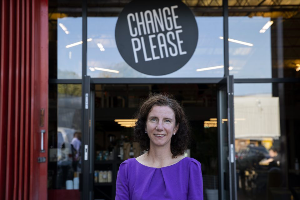 Labour MP Anneliese Dodds Visits Social Enterprise Teaching Job Skills To Homeless
