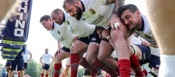 Rhino will supply training equipment for a fourth consecutive British and Irish Lions tour next summer