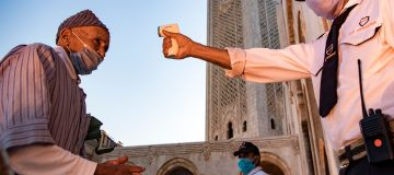 MOROCCO-RELIGION-ISLAM-HEALTH-VIRUS