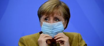 Merkel Holds Meeting With States Leaders Over Further Lockdown Measures