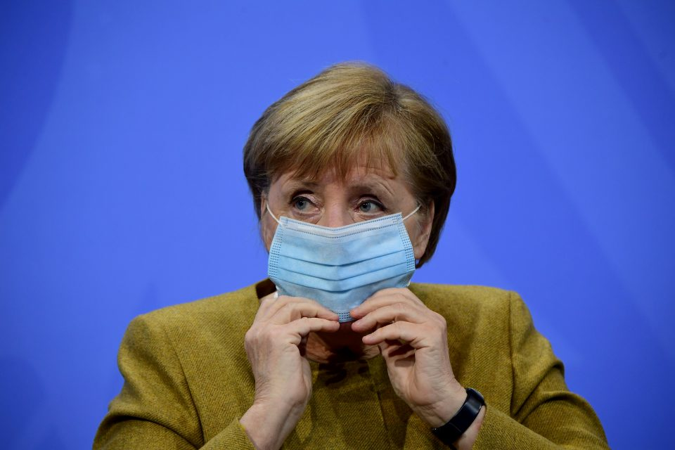 Merkel Holds Meeting With States Leaders Over Further Lockdown Measures