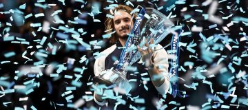 Prize money is significantly down on the $2.66m that 2019 champion Stefanos Tsitsipas received