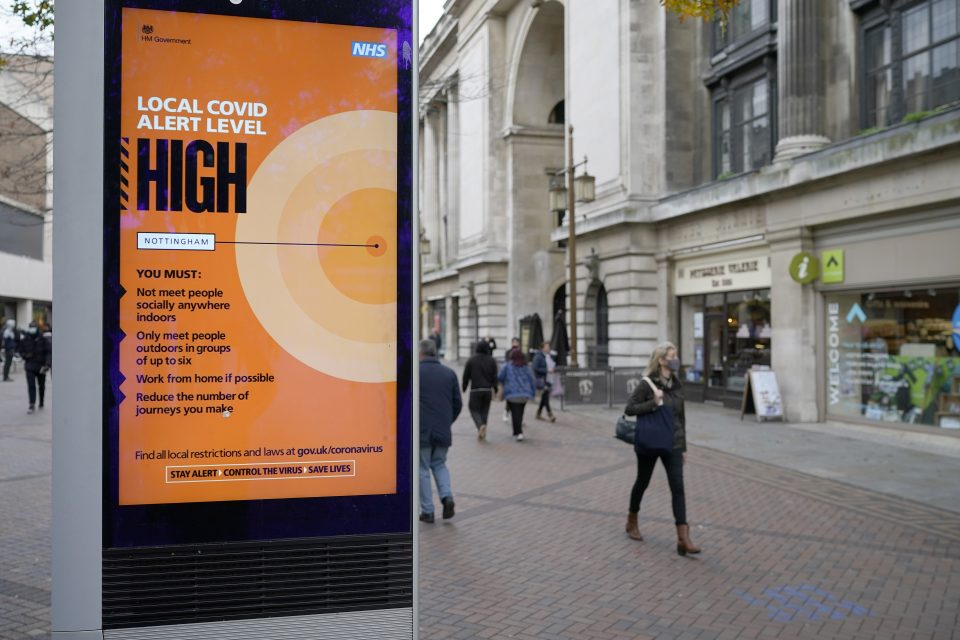Nottingham Is Latest City Preparing To Enter Tier Three Coronavirus Lockdown