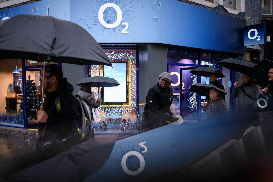 O2 Mobile Network Restored After Daylong Outage