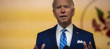 President-Elect Biden Delivers Thanksgiving Address In Wilmington