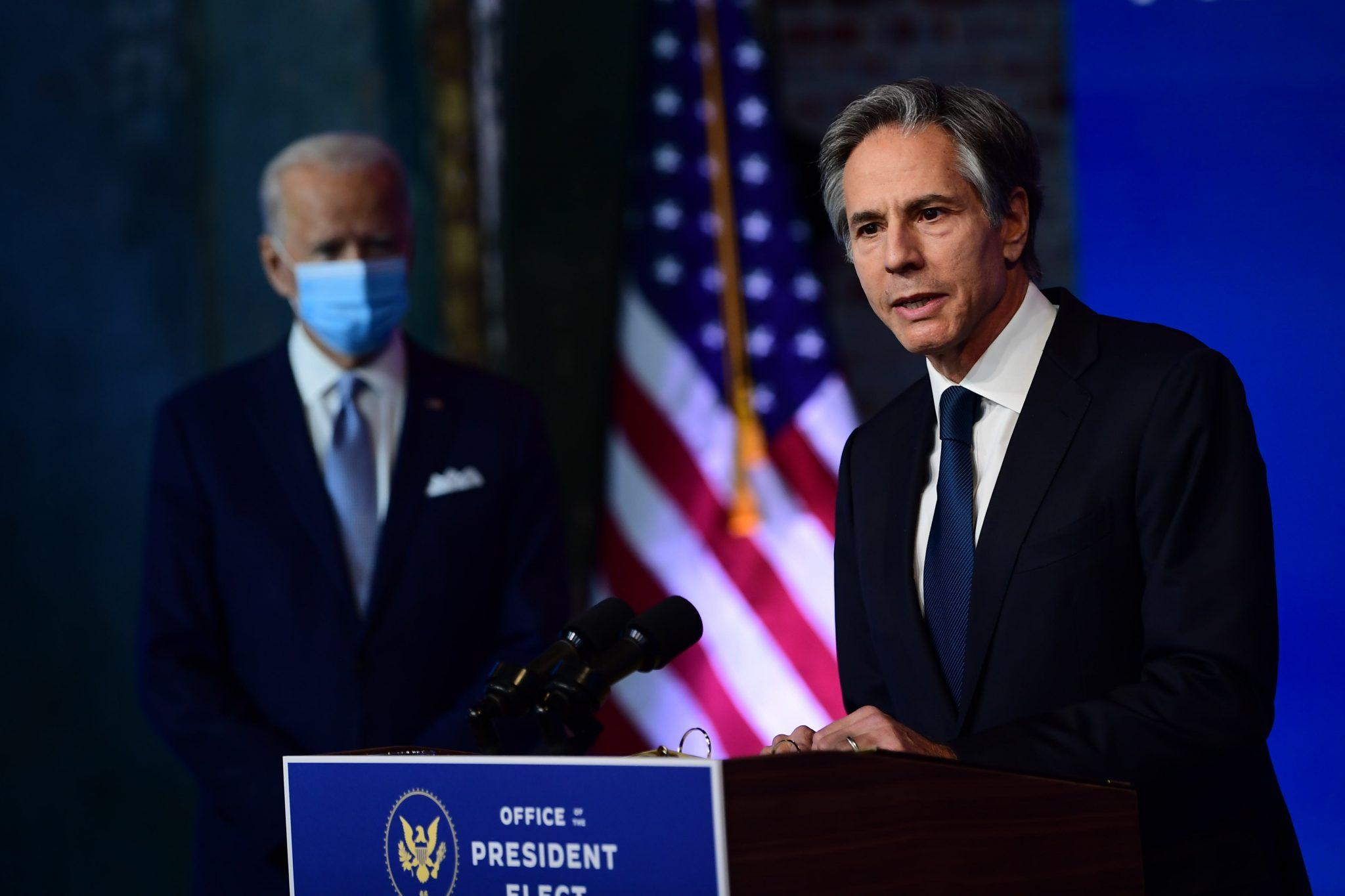 Tony Blinken, Estados Unidos, Política exterior de Joe Biden, Irán, Rusia