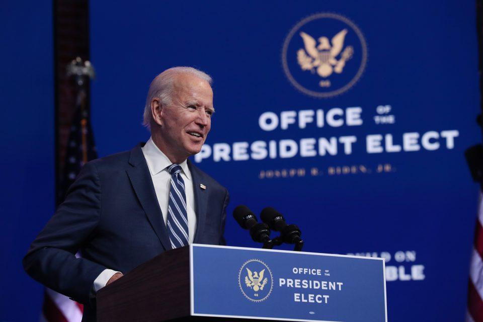 President-Elect Biden Remarks On ACA As Supreme Court Takes On Case