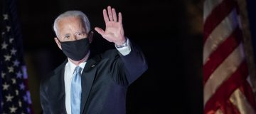President-Elect Joe Biden And Vice President-Elect Kamala Harris Address The Nation