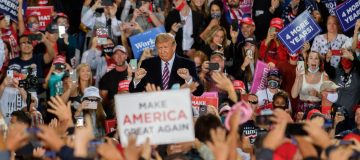 President Trump Holds Campaign Rally In Pennsylvania
