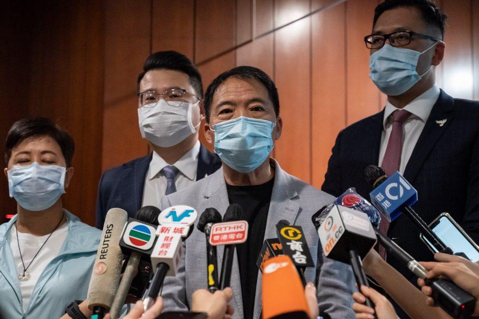Pro-democracy Lawmakers Resign From Legislative Council En Masse