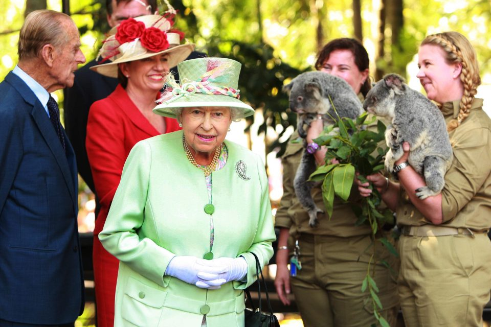 Queen Elizabeth II And Duke of Edinburgh Visit Australia - Day 6
