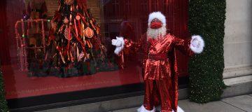 Selfridges Christmas Window Display Unveiling 2020 - Photocall