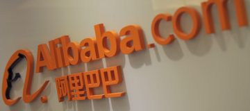 The logo of online shopping portal Aliba
