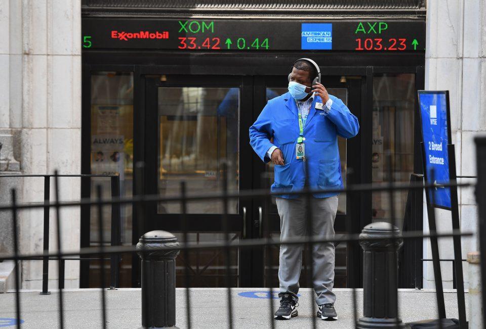 ftse 100 wall street us stocks