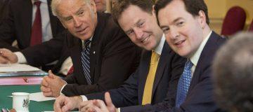 US Vice President Joe Biden Visits The UK