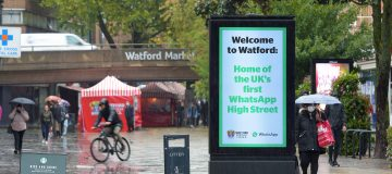 Watford Becomes The UK's First WhatsApp High Street