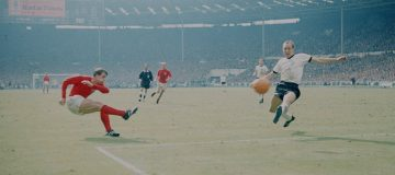 Colour film of the 1966 World Cup final is thought to have been discarded, meaning black and white footage will need to be treated to recreate the real thing