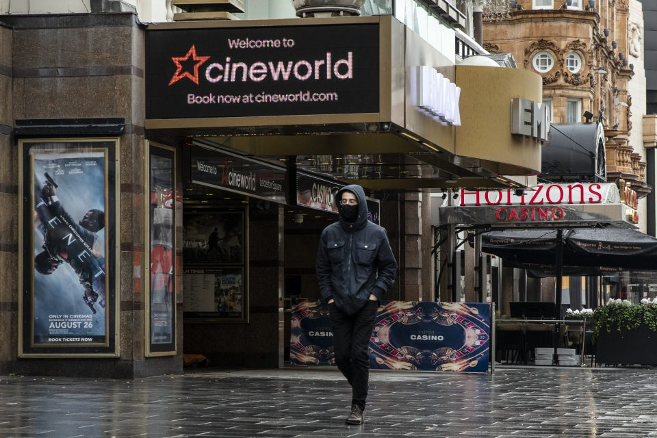 """Cineworld is reportedly mulling entering a """"company voluntary arrangement"""" (CVA) in a bid to keep the struggling cinema chain alive through to the spring."""