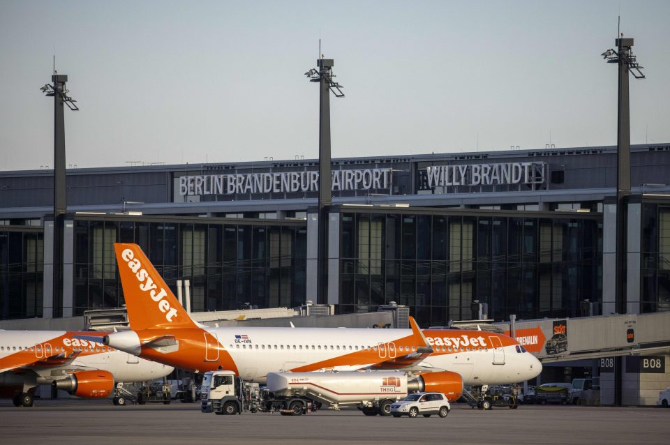 Easyjet has hit back at reports that it has approached German authorities for emergency funding to help it through the coronavirus pandemic.