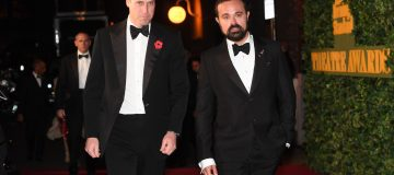 Evgeny Lebedev with Prince William