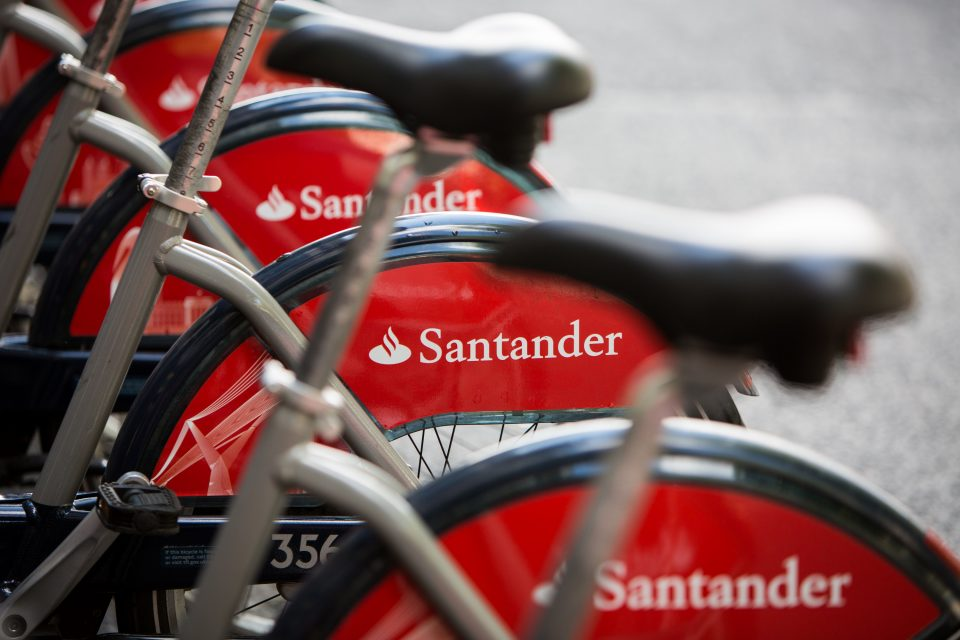 Londoners will be able to cycle to work for as little as £1 a week under a new scheme being launched by Santander Cycles.