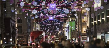 Retailers in London' shopping district are set to lose up to £2bn in sales across the eight-week period up to Christmas, new data released today has found.