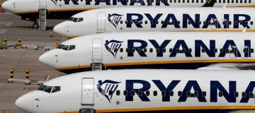 Ryanair crashed to a €197m (£177.8m) loss in the first half of the year as the budget carrier flew just 17m due to the coronavirus pandemic.
