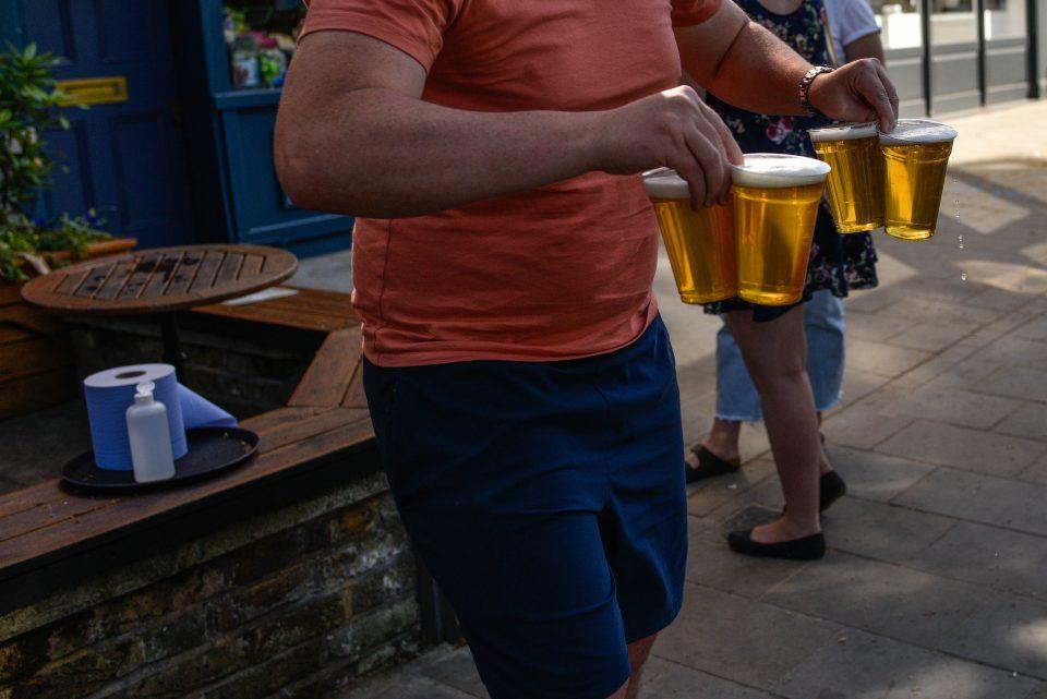 takeaway pints pubs
