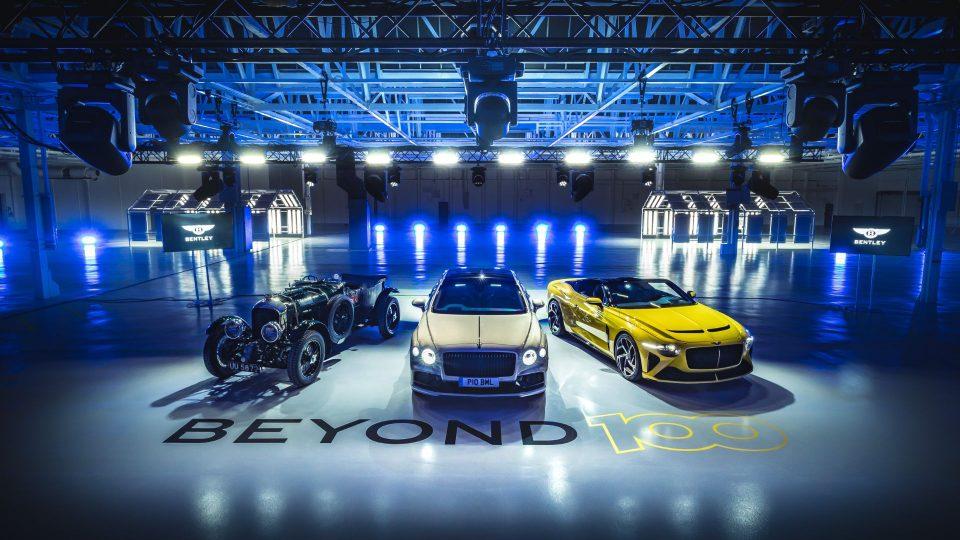 Bentley Beyond 100 event