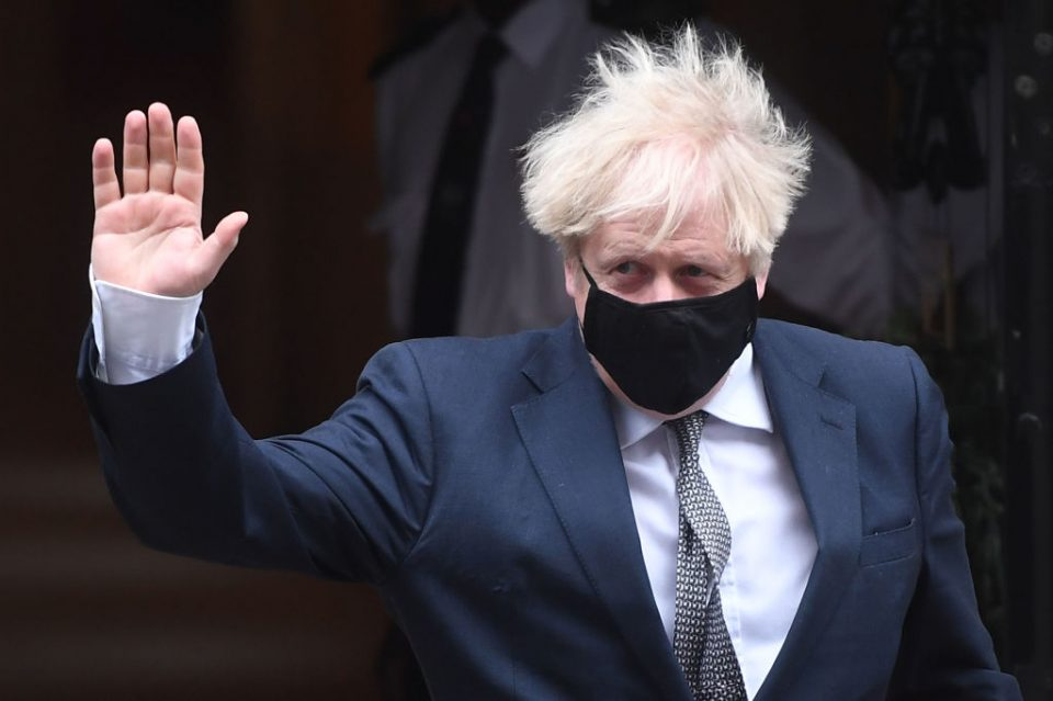 Boris Johnson Attends Final PMQs Of 2020