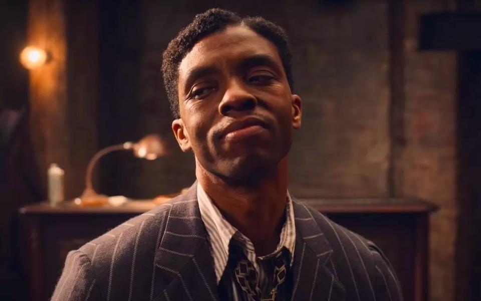 Chadwick Boseman in Ma Rainey's Black Bottom, an Oscar contender