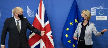 British PM Visits Brussels Ahead Of Brexit Deal Deadline