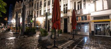 Brussels Under Coronavirus Curfew